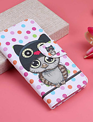 cheap -Case For Apple iPhone XS / iPhone XR / iPhone XS Max Wallet / Card Holder / with Stand Full Body Cases Owl Hard PU Leather