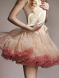 cheap -Dress Petticoat Hoop Skirt Tutu 1950s Cotton Blue Pink Fuchsia Petticoat / Under Skirt / Crinoline