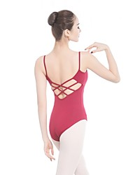 cheap -Ballet Leotards Women's Training / Performance Cotton / Elastane / Vicose Bandage Sleeveless Leotard / Onesie