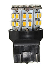 cheap -1pcs T20(7440,7443) Car Light Bulbs 3 W SMD 1206 120 lm 50 LED Brake Lights For universal / Volkswagen / Toyota All years