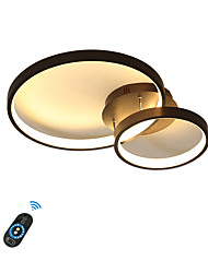cheap -1-Light 40 cm Dimmable LED Flush Mount Lights Aluminum Silica gel Circle Geometrical Painted Finishes LED Modern 110-120V 220-240V FCC VDE