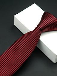 cheap -Men's Work Necktie - Plaid