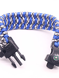 cheap -Carabiner Rope Rope Carrying Whistle Rope Hiking Mountaineering Army Green Blue / White Black / Yellow 1 pcs