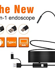cheap -7 mm lens Industrial Endoscope 1M Working length 3 in 1 Car Repair Inspection