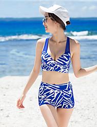 cheap -SANQI Women's Two Piece Swimsuit Elastane Neoprene Swimwear Breathable Quick Dry Short Sleeve Swimming Sexy Fashion Summer