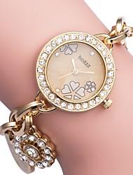 cheap -ASJ Women's Dress Watch Japanese Japanese Quartz White / Gold Casual Watch Analog Luxury Elegant - Gold Silver