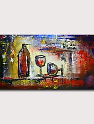 abordables -Peinture à l'huile Hang-peint Peint à la main - Abstrait Classique Moderne Sans cadre intérieur