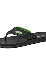 cheap -Men's PVC Summer Casual Slippers & Flip-Flops Water Shoes Breathable Black / Black / Green / Black / Blue