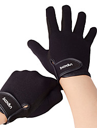 cheap -BOODUN Winter Bike Gloves / Cycling Gloves Mountain Bike MTB Thermal / Warm Breathable Anti-Slip Sweat-wicking Full Finger Gloves Touch Screen Gloves Sports Gloves Black Coffee for Adults' Outdoor