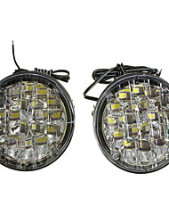 cheap -2pcs Wire Connection Car Light Bulbs 18 W 18 LED Fog Lights / Daytime Running Lights For universal / Volkswagen / Toyota All years
