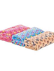 cheap -Dogs Cats Pets Mattress Pad Towels Bed Blankets Blankets Plush Fabric Warm washable Folding Stars Random Color
