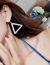 cheap -Women's Drop Earrings bridesmaid Imitation Diamond Earrings Jewelry Gold / Silver / Rose Gold For Wedding Engagement Club Bar Festival 1 Pair