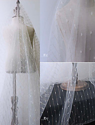 cheap -Tulle Solid Stretch 165 cm width fabric for Bridal sold by the 0.45m