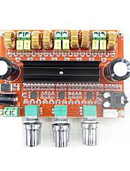 Недорогие -xh-m139 2,1-канальная цифровая усилитель мощности на плате tpa3116d2 мощность 2 * 80 Вт