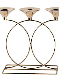 cheap -Modern Contemporary Stainless steel Candle Holders Candelabra 1pc, Candle / Candle Holder