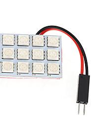 cheap -1pcs T10 / Festoon / BA9S Car Light Bulbs 2.5 W SMD 5050 120~150 lm 12 LED Interior Lights For All years