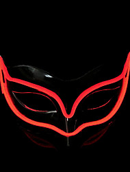 cheap -LED Mask Inspired by Animal White Purple Halloween Halloween Masquerade Adults' Men's