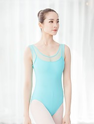 cheap -Ballet Leotards Women's Training / Performance Chinlon / Elastane Lace / Hook & Loop Sleeveless Leotard / Onesie