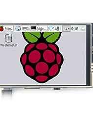 cheap -Raspberry Pi 3B model 3.5 inch LCD display touch screen with touch pen