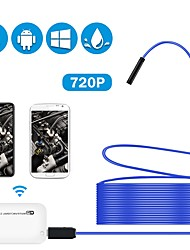 cheap -WiFi Borescope Semi-Rigid Flexible Wireless Endoscope IP67 Waterproof 2 MP HD Inspection