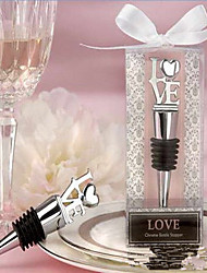cheap -Non-personalized Stainless steel Barware & Flasks Heart Bottle Favor