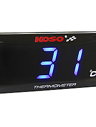 cheap -Motorcycle Air Temperature Meter for Motorcycles All years Gauge Red / Blue Anaglyph 3D