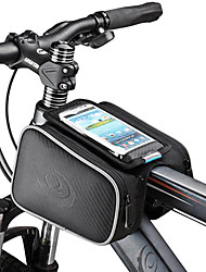 cheap -ROSWHEEL Cell Phone Bag Bike Frame Bag Top Tube 5.5 inch Cycling for Samsung Galaxy S4 Iphone 5/5S iPhone 8/7/6S/6 Black Cycling / Bike / iPhone X / iPhone XR / iPhone XS / iPhone XS Max