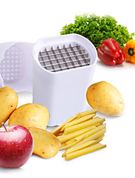 cheap -Perfect Fries Potato Chip Natural French Fry Cutter Vegetable Fruit Slicer Potato Peeler
