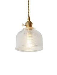 cheap -1-Light JSGYlights 15 cm Mini Style / New Design Pendant Light Metal Glass Mini Electroplated Contemporary / Retro Vintage 110-120V / 220-240V