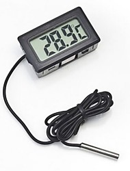 cheap -Aquariums & Tanks Thermometer Plastic Electronic / Electric Battery