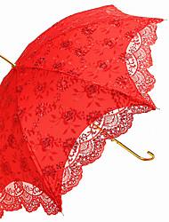cheap -Umbrellas Alloy Ruffle Wedding Party