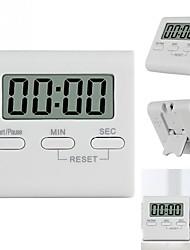 Недорогие -жк-цифровой таймер приготовления обратного отсчета часы магнитный дизайн напоминание