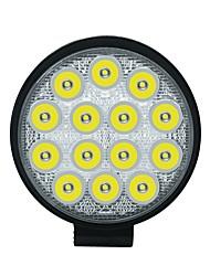 Недорогие -1pcs Проводное подключение Автомобиль Лампы 42 W COB 3550 lm 14 Светодиодная лампа Противотуманные фары / Рабочее освещение Назначение Универсальный Все года
