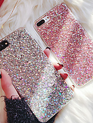 cheap -Case For Apple iPhone XS / iPhone XR / iPhone XS Max Glitter Shine Back Cover Glitter Shine Soft TPU