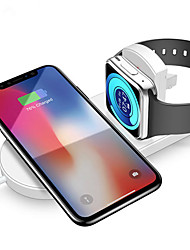 cheap -RAXFLY 10W 7.5W Foldable Wireless Car Charger Charging Dock For iPhone XS MAX XR Apple Watch 2 3 Note 9