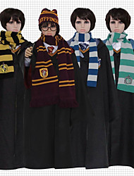 cheap -Cosplay Harry James Potter Magic Harry Gryffin d'or Unisex Movie Cosplay Yellow / Red / Green Cloak Terylene