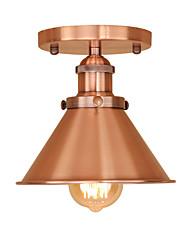 cheap -1-Light JSGYlights 18.5 cm Mini Style Flush Mount Lights Metal Electroplated / Painted Finishes Retro Vintage / Modern 110-120V / 220-240V / E26 / E27