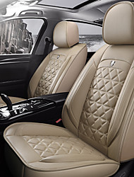 cheap -5 seats four seasons universal Seat Cover/PU Leather./Airbag compatibility/fiadjustable and removable/five color choices