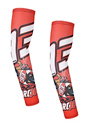 cheap -Motorcycle Sport Sleeves UV Protection Arm Warmers Cycling Basketball Running Bik Red Ants Arms Sleeves Quick Dry