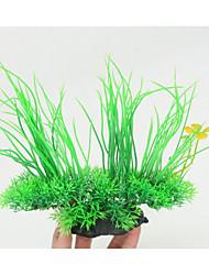 cheap -Fish Tank Aquarium Decoration Artificial Plants Hornwort Anacharis Waterplant Artificial Plants Green Waterproof Portable Decoration Plastic 1 20 cm