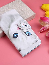 cheap -Case For Huawei Huawei P20 / Huawei P20 Pro / Huawei P20 lite Wallet / Card Holder / with Stand Full Body Cases Cat Hard PU Leather / P10 Lite