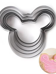 Недорогие -5 шт мультфильм мышь торт плесень кухня выпечки инструменты печенья штампы