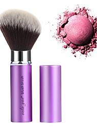 Недорогие -профессиональный Кисти для макияжа 1 шт. Для профессионалов синтетический Синтетические волосы Алюминий за Кисть для румян Косметическая кисточка