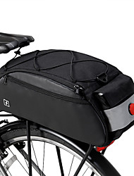 cheap -ROSWHEEL 10 L Bike Saddle Bag Bike Panniers Bag Bike Rack Bag Multifunctional Large Capacity Waterproof Bike Bag 600D Nylon Bicycle Bag Cycle Bag MTB / Road Bike / Sports Mountain Bike / MTB Road