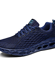 cheap -Men's Comfort Shoes Tissage Volant Spring & Summer / Fall & Winter Sporty / Preppy Athletic Shoes Running Shoes / Fitness & Cross Training Shoes Breathable Black / Red / Dark Blue