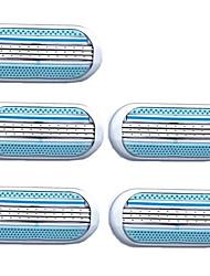 Недорогие -Руководство для бритья Зона подмышек Очистка инструментов Молодежный Влажное и сухое бритье Пластиковые & Металл