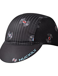 cheap -Nuckily Cycling Cap / Bike Cap Visor UV Resistant Breathable Quick Dry Sweat-wicking Bike / Cycling Black Spandex for Men's Women's Teen Adults' Road Bike Outdoor Exercise Recreational Cycling Print