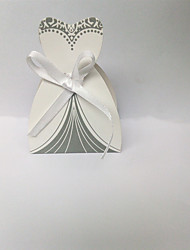 cheap -irregular Card Paper Favor Holder with Sashes / Ribbons Favor Boxes - 10pcs