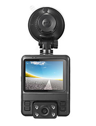 cheap -GS65H Dual Lens / with Rear Camera Car DVR 150 Degree Wide Angle 2.4 inch LCD Dash Cam with GPS / G-Sensor / Loop-cycle Recording Car Recorder