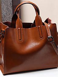 abordables -sac à main en cuir nappa couleur unie vin / rose / noir